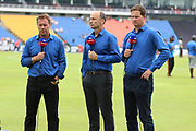Sky TV team during the One Day International match between Sri Lanka and England at Pallekele International Cricket Stadium, Pallekele, Sri Lanka on 20 October 2018.