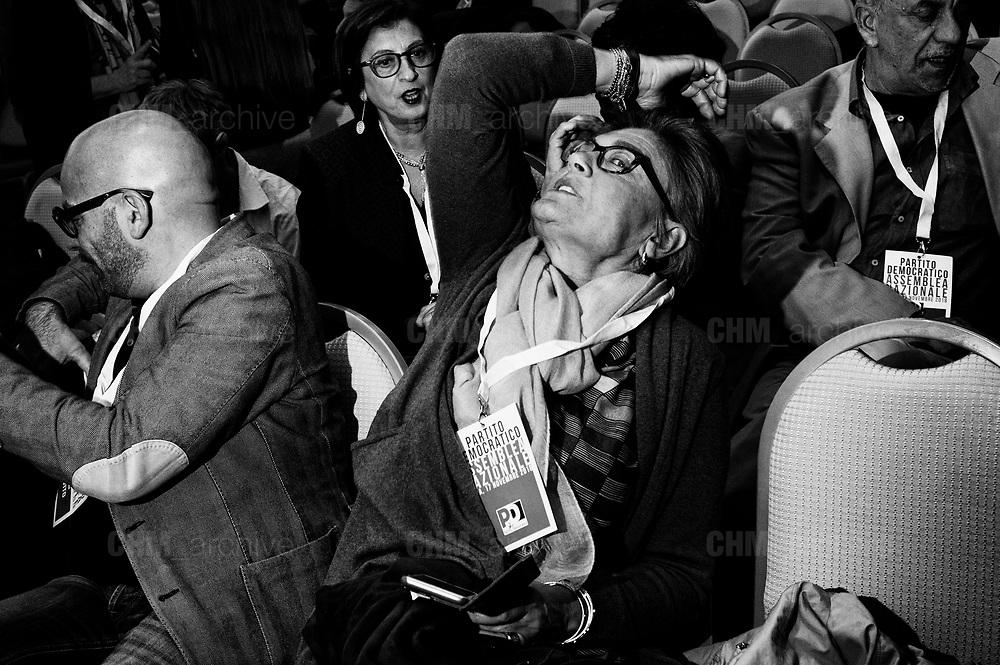 Democratic party National Assembly on Mayv11 November, 2018, in Rome. Christian Mantuano / OneShot