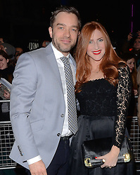 Hadley Fraser and Rosalie Craig attend The 10th What's On Stage Awards at The Prince Of Wales Theatre, London on Sunday 15  February 2015