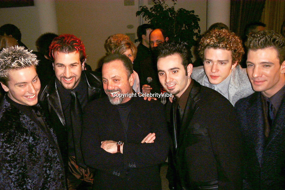 Billy Joel and NSYNC<br />