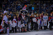 KELOWNA, CANADA - OCTOBER 28:  London Drugs & Hersheys Candie Scramble at the Kelowna Rockets game on October 28, 2017 at Prospera Place in Kelowna, British Columbia, Canada.  (Photo By Cindy Rogers/Nyasa Photography,  *** Local Caption ***