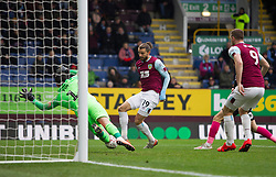Jay Rodriguez of Burnley scores his sides first goal - Mandatory by-line: Jack Phillips/JMP - 04/01/2020 - FOOTBALL - Turf Moor - Burnley, England - Burnley v Peterborough United - English FA Cup