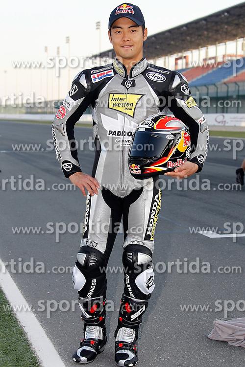 19.03.2010, Doha, Katar, QAT, MotoGP, Fahrerfotos im Bild Hiroshi Aoyama - Interwetten Honda Team, EXPA Pictures © 2010, PhotoCredit: EXPA/ InsideFoto/ Semedia / SPORTIDA PHOTO AGENCY