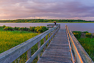 Munn Point, Boardwalk, Shinnecock Bay, Meadow Lane, Southampton,Long Island, New York