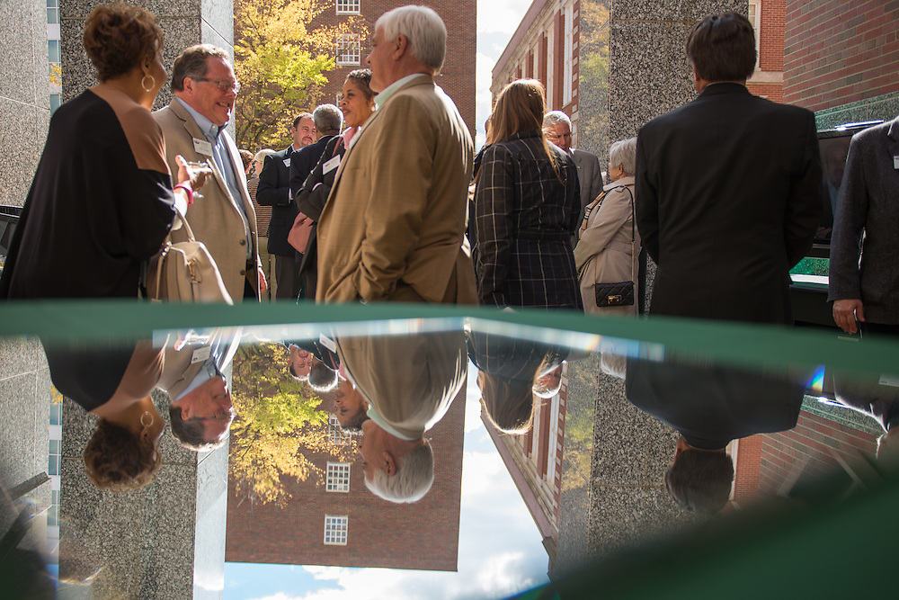 Photographs of the Computer Services Center renovation celebration event on Oct. 16, 2015 on the Ohio University campus in Athens, Ohio. © Ohio University / Photo by Joel Prince