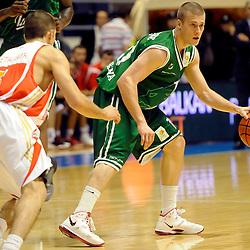20111015: SLO, Basketball - Liga ABA, KK Crvena Zvezda Beograd vs Union Olimpija