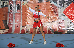 Tjasa Bizovicar, Slovenia during Individual senior at second day of European Cheerleading Championship 2008, on July 6, 2008, in Arena Tivoli, Ljubljana, Slovenia. (Photo by Vid Ponikvar / Sportal Images).