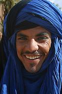 portrait of a moroccan man