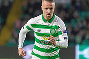 Leigh Griffiths (#9) of Celtic during the Europa League match between Celtic and Rennes at Celtic Park, Glasgow, Scotland on 28 November 2019.