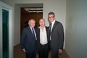 FRANCOIS PINAULT; DAMIEN HIRST; JAY JOPLING, Damien Hirst, Tate Modern: dinner. 2 April 2012.