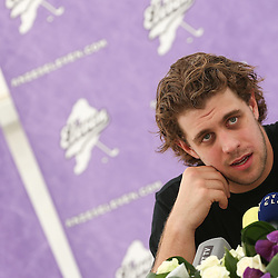 20130615: SLO, Ice Hockey - Press conference of Anze Kopitar, players of NHL team Los Angeles Kings