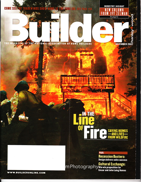 Builder Magazine (2007) - Cover and Full Length Feature