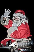 Santa's surprise solstice eve ride through Pitman, NJ.