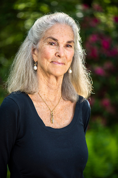 © Photo by Mara Lavitt<br /> June 12, 2020<br /> Preston, CT<br /> <br /> Poet Margaret Gibson at home in Preston, CT.