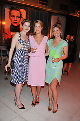 Left to right, TATIANA HAMBRO, the HON.MRS VIRGINIA CHADWYCK-HEALEY and EMILY ARMSTRONG at the Vogue Festival Party 2013 in association with Vertu held at the Queen Elizabeth Hall, Southbank Centre, London SE1 on 27th April 2013.