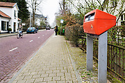 Nederland, Ubbergen, 9-4-2018De enige brievenbus van het dorp gaat verdwijnen.Foto: Flip Franssen