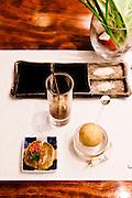 Kushikatsu at Wasabi restaurant.