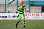 Forest Green Rovers Haydn Hollis(32) during the EFL Sky Bet League 2 match between Carlisle United and Forest Green Rovers at Brunton Park, Carlisle, England on 27 January 2018. Photo by Shane Healey.