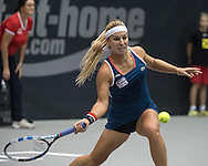 Dominika Cibulkova (SVK) on Day Three of the WTA Generali Ladies Linz Open at TipsArena, Linz<br /> Picture by EXPA Pictures/Focus Images Ltd 07814482222<br /> 12/10/2016<br /> *** UK & IRELAND ONLY ***<br /> <br /> EXPA-REI-161012-5019.jpg
