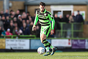 Forest Green Rovers Chris Clements(22) during the EFL Sky Bet League 2 match between Forest Green Rovers and Notts County at the New Lawn, Forest Green, United Kingdom on 10 March 2018. Picture by Shane Healey.