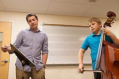 Bass Student and Teacher
