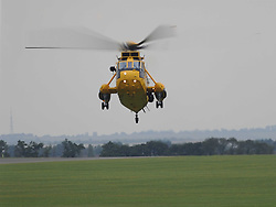 Westland Sea King, Helicopter,  The Duxford Air Show, 14th September 2014