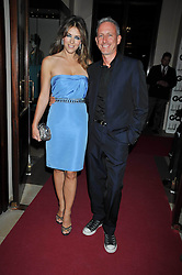 LIZ HURLEY and PATRICK COX at the annual GQ Awards held at the Royal Opera House, Covent Garden, London on 8th September 2009.