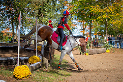 Vingerhoets Jenne, BEL, Pablo<br /> LRV Ponie cross - Zoersel 2018<br /> © Hippo Foto - Dirk Caremans<br /> 28/10/2018