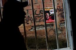Chavez propaganda in  Coche, a poor slum in Caracas