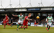 Yeovil Town v Crawley Town 23/01/2016