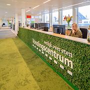 Voedingscentrum Den Haag. Ontwerp Liag architecten en bopuwadviseurs. Circuliare bouw met hergebruik materialen. Duurzaam, flexibel en toekomstbestendig.