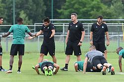 June 26, 2017 - L'Etrat - Centre De Formation Et, France - Oscar Garcia et ses joueurs et son staff (Credit Image: © Panoramic via ZUMA Press)