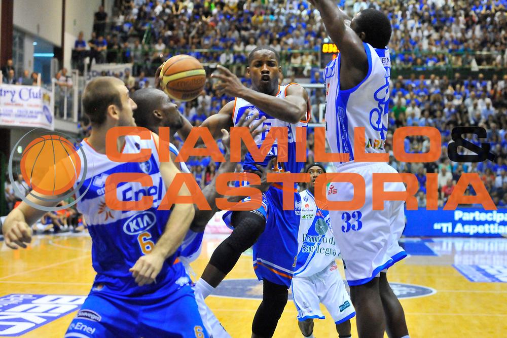 DESCRIZIONE : Campionato 2013/14 Quarti di Finale GARA 2 Dinamo Banco di Sardegna Sassari - Enel Brindisi<br /> GIOCATORE : Jerome Dyson<br /> CATEGORIA : Tiro Penetrazione<br /> SQUADRA : Enel Brindisi<br /> EVENTO : LegaBasket Serie A Beko Playoff 2013/2014<br /> GARA : Dinamo Banco di Sardegna Sassari - Enel Brindisi<br /> DATA : 21/05/2014<br /> SPORT : Pallacanestro <br /> AUTORE : Agenzia Ciamillo-Castoria / Luigi Canu<br /> Galleria : LegaBasket Serie A Beko Playoff 2013/2014<br /> Fotonotizia : DESCRIZIONE : Campionato 2013/14 Quarti di Finale GARA 2 Dinamo Banco di Sardegna Sassari - Enel Brindisi<br /> Predefinita :