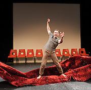 Minsk, 2011: A Reply to Kathy Acker<br /> Belarus Free Theatre<br /> at The Maria, Young Vic Theatre, London, Great Britain <br /> press photocall<br /> 14th June 2012 <br /> <br /> directed by Vladimir Shcherban<br /> produced by Fuel <br /> Lift 2012 festival<br /> <br /> Viktoriya Biran<br /> <br /> Pavel Garadnitsky<br /> <br /> Aliaksei Naranovich<br /> <br /> Yana Rusakevich<br /> <br /> Yulia Shauchuk<br /> <br /> Aleh Sidorchuk<br /> <br /> Dzenis Tarasenka<br /> <br /> Maryna Yurevich<br /> <br /> Siarhei Kvachonak<br /> <br /> <br /> <br /> Photograph by Elliott Franks