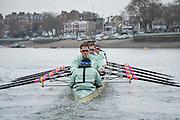 London. UNITED KINGDOM.   Tideway Week. 162nd BNY Mellon Boat Race  and The 71st Newton Women's Boat Race on the Championship Course, River Thames, Putney/Mortlake.  Thursday  24/03/2016    [Mandatory Credit. Intersport Images]<br /> <br /> Cambridge University Boat Club {CUBC}<br /> <br /> Cambridge, Bow: Felix Newman – 83.2kg, 2: Ali Abbasi – 88.4kg, 3: Charles Fisher – 91.8kg, 4: Clemens Auersperg – 90.4kg, 5: Luke Juckett – 82.0kg, 6: Henry Hoffstot –  92.6kg, 7: Ben Ruble – 83.4kg, Stroke: Lance Tredell – 94.2kg, Cox: Ian Middleton – 54.0kg