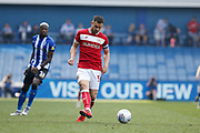 Bailey Wright of Bristol City during the EFL Sky Bet Championship match between Sheffield Wednesday and Bristol City at Hillsborough, Sheffield, England on 22 April 2019.