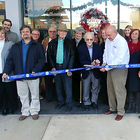 A ribbon cutting ceremony was held for the newly remodeled First Federal Savings & Loan, located at 111 W. Commerce St.