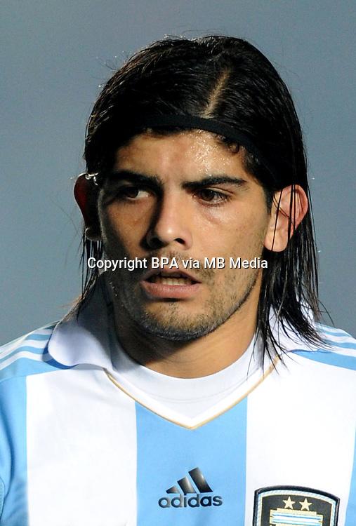 Football Fifa Brazil 2014 World Cup / <br /> Argentina National Team - <br /> Ever Banega of Argentina