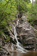 Gibbs Brook Falls in Crawford Notch, New Hampshire.