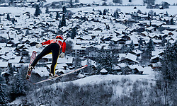 27.12.2014, Schattenbergschanze, Oberstdorf, GER, FIS Ski Sprung Weltcup, 63. Vierschanzentournee, Training, im Bild Stephan Layhe (GER) // Stephan Leyhe of Germany// during practice Jump of 63 rd Four Hills Tournament of FIS Ski Jumping World Cup at the Schattenbergschanze, Oberstdorf, Germany on 2014/12/27. EXPA Pictures © 2014, PhotoCredit: EXPA/ Peter Rinderer