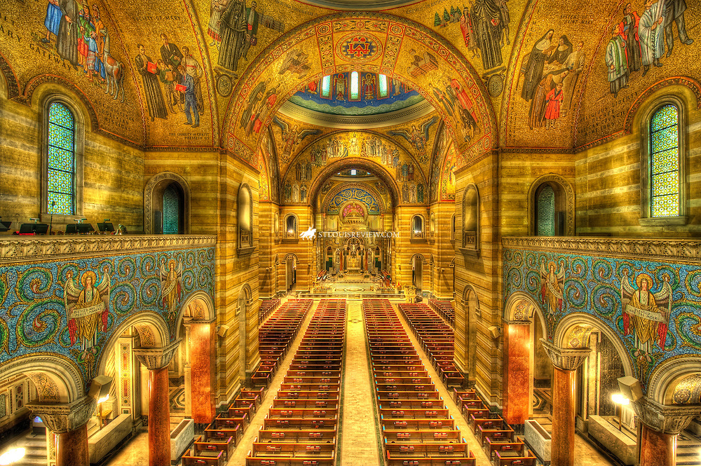 Lisa Johnston | lisa@aeternus.com | Tiwtter: @aeternusphoto  Cathedral Basilica of St. Louis - St. Louis, Missouri in HDR.
