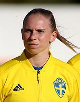 International Women's Friendly Matchs 2019 / <br /> Womens's Algarve Cup Tournament 2019 - <br /> Portugal v Sweden 2-1 ( Municipal Stadium - Albufeira,Portugal ) - <br /> Jonna Andersson of Sweden