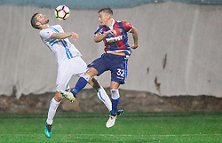 Alexander Gorgon of HNK Rijeka vs Fran Tudor of HNK Hajduk during football match between HNK Rijeka and HNK Hajduk Split in Round #15 of 1st HNL League 2016/17, on November 5, 2016 in Rujevica stadium, Rijeka, Croatia. Photo by Vid Ponikvar / Sportida