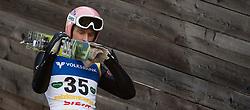 11.01.2014, Kulm, Bad Mitterndorf, AUT, FIS Ski Flug Weltcup, Probedurchgang, im Bild Severin Freund (GER) // Severin Freund (GER) during the Trial jump of FIS Ski Flying World Cup at the Kulm, Bad Mitterndorf, .Austria on 2014/01/11, EXPA Pictures © 2013, PhotoCredit: EXPA/ Erwin Scheriau