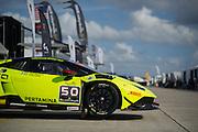 November 19-22, 2015: Lamborghini Super Trofeo at Sebring Intl Raceway. #50 Richard Antinucci, Edoardo Piscopo, O'Gara Motorsport, Lamborghini of Beverly Hills, Lamborghini Huracan 620-2