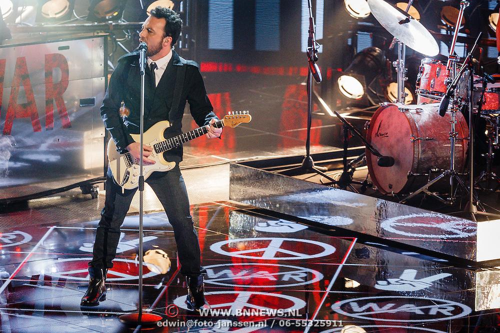 NLD/Hilversum/20151218 - The Voice of Holland 2015 - 3de liveshow, Ivar Vermeulen