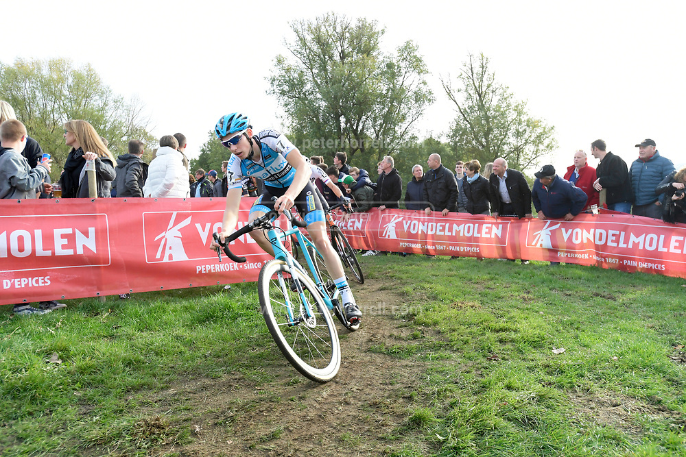 Belgium, November 1 2017: Michael Vanthourenhout, Marlux - Napoleon Games Cycling Team, during the 2017 edition of the Koppenbergcross. Vanthourenhout finished the race in 8th place. Copyright 2017 Peter Horrell.
