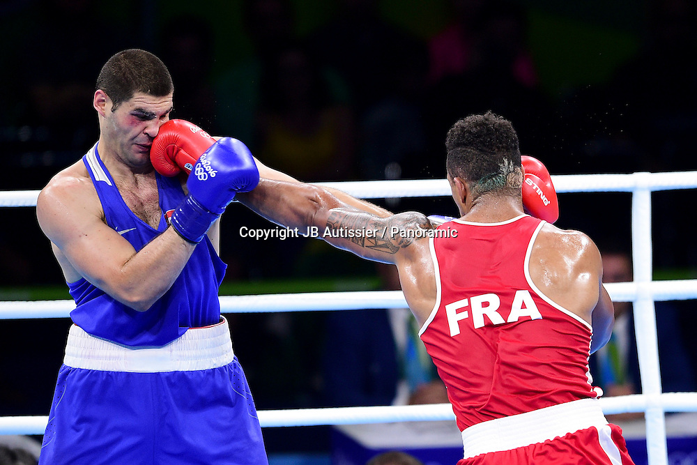 YOKA Tony Victor James (fra - rouge) vs HRGOVIC Filip (cro - bleu) - poids super loud hommes +91kg