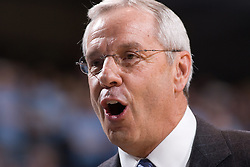 16 December 2006:  North Carolina Tar Heels head coach Roy Williams during a North Carolina Tar Heels 93-62 win over the North Carolina - Asheville Bulldogs at the Dean Smith Center in Chapel Hill, NC.<br />