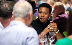 Korey Smith of Bristol City mingles with guests during the Lansdown Club event - Mandatory by-line: Robbie Stephenson/JMP - 06/09/2016 - GENERAL SPORT - Ashton Gate - Bristol, England - Lansdown Club -